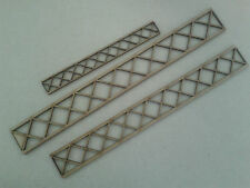 Model Railway Layout Laser Cut Lattice Bridge 2 Sides 3mm MDF Various Lengths