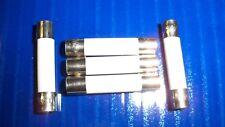 "5 Microwave Ceramic Fuses Fast Blow 20 Amp 250 V  6x30mm  (1/4 "" X  1-1/4 "")"