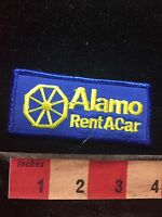ALAMO RENTACAR - Rental Car Business Advertising / Uniform Patch 77P7