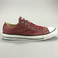 Converse All Star CT Ox Trainers in Jester Red New in box UK Size 3,4,5,9
