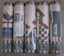 Lot of 5 Debbie Mumm Mumm's World Birds Wallpaper Border 5 rolls 25 yds DM7032B