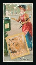 """1889 N85 Duke's Cigarettes POSTAGE STAMPS (""""Genuine Foreign"""") -By The Way"""