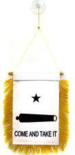 "Wholesale lot 3 Gonzalez Gonzales Come and Take It Mini Flag 4""x6"" Window Banner"