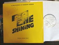 The Shining Original Soundtrack LP Wendy Carlos '80 penderecki ligeti bartok WOW