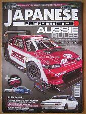 Japanese Performance October 2016 Honda CR-X Corolla AE86 Nissan 200SX Impreza