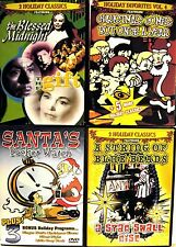 Christmas DVD Set A -  4-Pack Christmas Themed Movies
