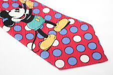 DISNEY MICKEY MOUSE Silk tie cartoon E94617