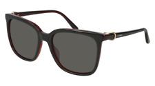 Cartier Sunglasses Signatuer C DE Cartier CT0004S 005 55MM Black Black Gray