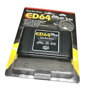 ED64 Plus Game Save Device PAL/NTSC - Latest NINTENDO 64 Cartridge adapter