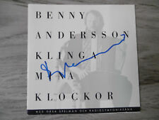 "Benny Andersson ""ABBA"" Autogramm signed CD Booklet ""Klinga Mina Klockor"""