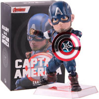 Avengers Age of Ultron Egg Attack Captain America PVC Action Figure Model Toy