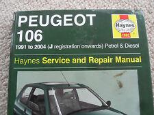 peugeot 106,,,haynes car manual