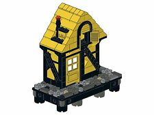 Lego - Old Town - F08 - Haus V (Ecke - gelb&schwarz)