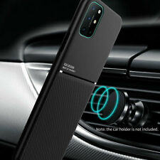 For OnePlus 8T / 8T+ 5G Leather Magnetic Slim Case Cover
