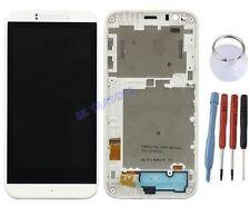 ECRAN LCD + VITRE TACTILE SUR CHASSIS BLOC COMPLETE POUR HTC DESIRE 510 BLANC