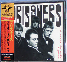 The Prisoners - A Taste Of Pink & More! (Rare Japanese CD + 4 Bonus Tracks)