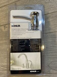 Kohler Soap Lotion Dispenser Under Sink Polished Chrome NEW