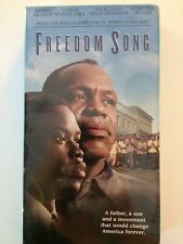 FREEDOM SONG  Danny Glover Vhs NEW Vondie Curtis Hall Loretta Devine Vicellous