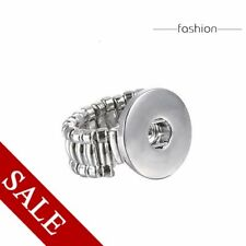 Hot Stretch Ring Poppers Snap On Punk Button No Charms Rings Christmas Halloween