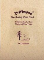 Weathered Wood Finish for Bare or Unfinished Wood - Non Toxic & Safe