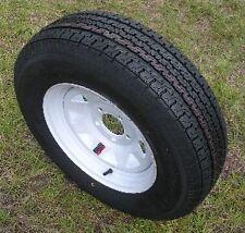 "Towmaster ST175/80D13 Trailer Tire B78-13 White Rim 4Lug Load Range C 13"" 12984"