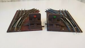 LIONEL 6-5021 Left & 6-5022 Right Manual Switch Hand 027 Gauge