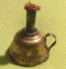 Antique ~ Egg Candler ~ Brass ~ Kerosene