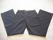 Express Design Studio Dress Trouser Pants Grey w/Pink Pinstripes Size 6 NWOT