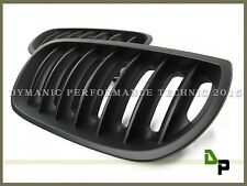 Matte Black Front Kindey Grille Grill For 2004-2006 BMW E83 X3 SUV