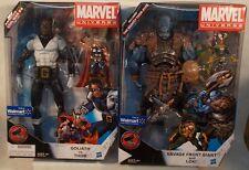 "Marvel Universe 3 3/4"" Walmart Exclusive 12"" Frost Giant Loki Goliath Thor MISB"