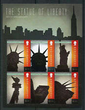 Montserrat 2011 MNH Statue of Liberty 125th Anniv 6v M/S New York Stamps