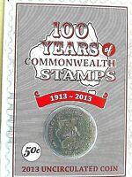 Australia 2019 The Twelve Days of Christmas Carol 50c UNC Coin Decoration Orange