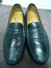 Cole Haan Air Mens CO7917 Black Penny Loafers Size 9 Medium