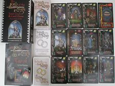 """The Lord of the Rings Tarot Pack"" Oracle cards & book set by US Games System."