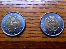"""CANADA, 2011, """"TWO DOLLARS ~ BOREAL FOREST"""" $2 COIN. FRESH UN-CIRCULATED"""