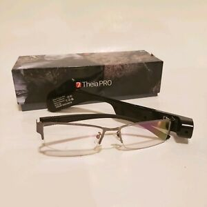 7 TheiaPro App Enabled Eyeglasses Camera Black AS IS