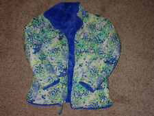 Girls The Northface Reversible Mossbud Swirl Insulated Jacket! Size XL (18)