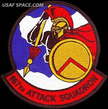 USAF 867th ATTACK SQUADRON - MQ-1 Predator- MQ-9 Reaper DRONES - ORIGINAL PATCH