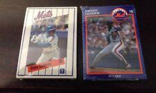 1990 And 1991  New York Mets Kahns Baseball Card Sets  Sealed