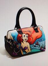 NEW Disney The Little Mermaid Ariel Canvas Satchel Bag Handbag Purse