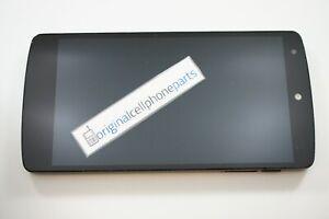 OEM LG Google Nexus 5 D820 D821 LCD Digitizer Frame USED ORIGINAL WATER DAMAGED