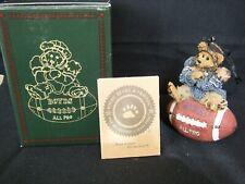 "Boyds Bears ornament ""Knute.Half Time"" #25705 1995"