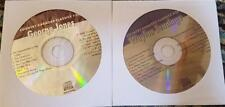 2 CDG KARAOKE HITS OUTLAW COUNTRY WAYLON JENNINGS & GEORGE JONES CKC26,28 CD+G