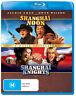 SHANGHAI NOON / SHANGHAI KNIGHTS (2-MOVIE COLLECTION) (2000) [NEW BLURAY]