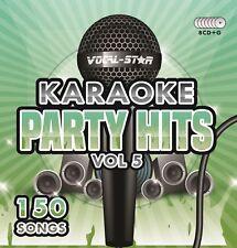 Vocal-Star Crooners Swing Karaoke Hits 4 CDG CD G Disc Set - 90 Songs a