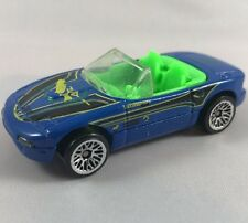 Hot Wheels Mazda MX-5 Miata Blue Malaysia 1999 Vintage Diecast