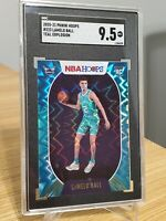 2020-2021 LAMELO BALL Panini NBA Hoops Teal Explosion SGC 9.5 #223 RC Rookie