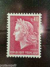FRANCE 1967, TP 1536Ba, VARIETE MARIANNE CHEFFER 2 BANDES PHOSPHORE, neuf**, MNH