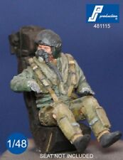 1/48 PJ PRODUCTION RAF FIGHTER PILOT SEATED IN A/C (80s-90s)