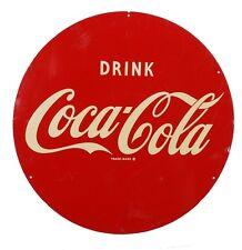 Vintage Coca Cola Metal Sign